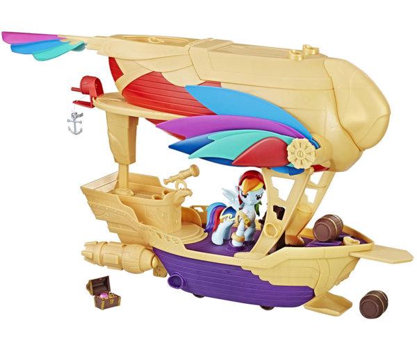 Малкото пони - Въздушен пиратски кораб